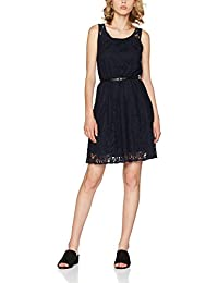 Only Onlmarun Lia S/L Short Dress Wvn Noos, Vestito Donna
