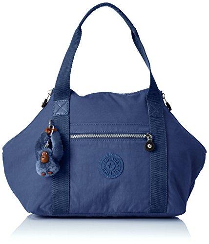 Kipling ART S, Borsa con Maniglia Donna, Blu (REF33V Jazzy Blue), 44x27x18 cm (B x H x T)