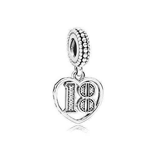 Pandora Damen-Bead Charms 925 Sterlingsilber 797262CZ