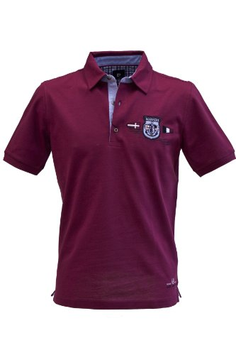 Pierre Cardin mercerisiertes Edel Polo-Shirt in 2 Farben Berry