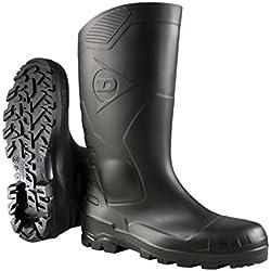 Dunlop S5 H142011 - Botas de seguridad con punta y entresuela de acero para hombre, color Negro, talla 36