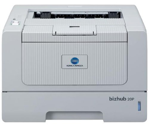 Konica Minolta Bizhub 20P–Drucker Laser und LED (2400x 600dpi, 30000Seiten pro Monat, PCL 3, PCL 6, Laser, 32ppm, 18S)