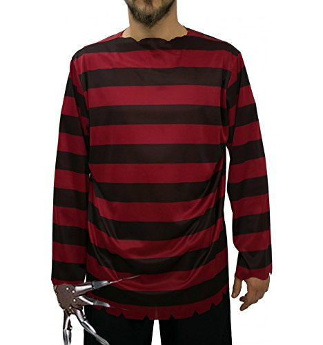 Imagen de freddy krueger disfraz inspirado adulto  xl alternativa