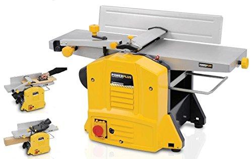 Hobelmaschine Abrichthobel Dickenhobel Bretter Hobel 1500W POW X204