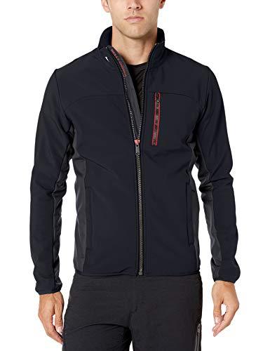 Helly Hansen Herren Crew Softshell Jacket Segeljacke, Navy, M