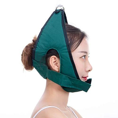 Fascia di fissazione cervicale medica, regolabile cuscino di fissaggio cinghia unità per collo spalla Brace testa dolore sollievo casa