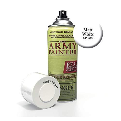 Army Painter - Base Primer - Matt White Spray