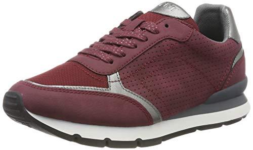 ESPRIT Damen Blanchet LU Sneaker, Rot (Bordeaux Red 600), 38 EU