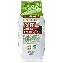 Ethiquable Café Grains Pérou Équitable & Bio 1 kg Paysans Producteurs