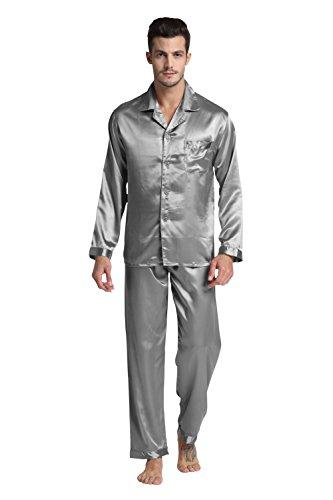 tony-candice-herren-schlafanzug-klassische-satin-schlafanzug-l-hellgrau