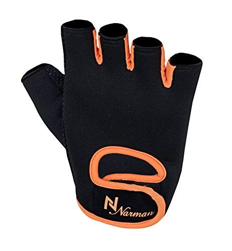 Black Orange Ladies Weight – Weight Lifting Gloves