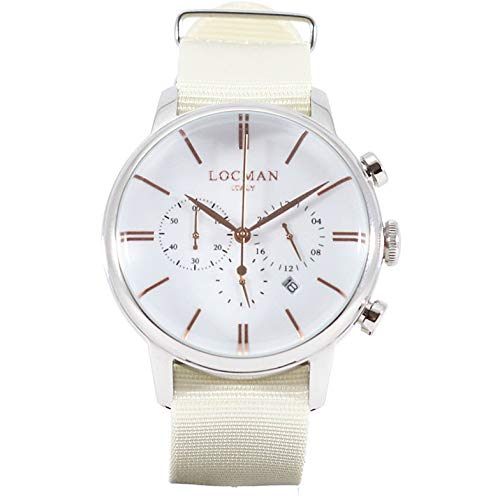 Montre chronographe Homme Locman 1960 Casual Cod. 0254 a08r-00whrgnc
