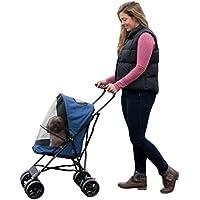 Pet Gear 02705 Buggy zum Transport von Hunden/Vierbeinern, leicht und kompakt, bis 6.8kg