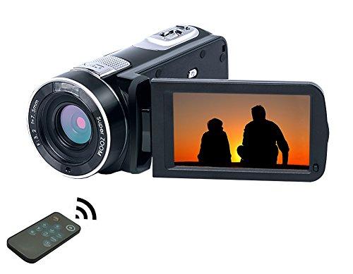 Videocámara Full HD 1080P 24.0MP 18X Zoom Digital con Control Remoto Cámara de Video Videocámara Digital Visión Nocturna