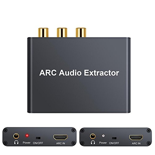 192 KHz HDMI ARC Audio Adapter SPDIF RCA Konverter Extractor Audio Extractor Hmdi-video