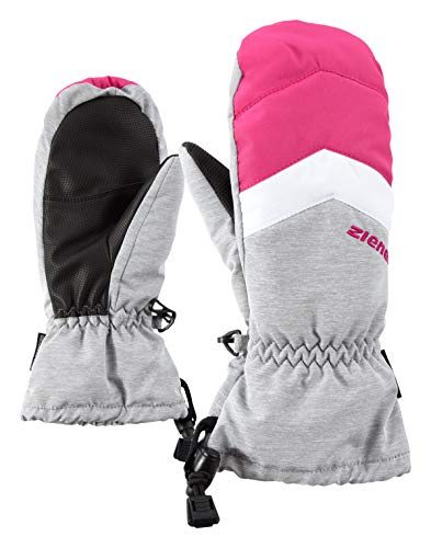 Ziener Kinder LETTERO AS MITTEN glove junior Ski-handschuhe / Wintersport | wasserdicht, atmungsaktiv