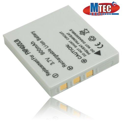 MTEC Akku *900mAh* für Fuji FinePix F Serie / J50 / V10 / Z1 Z2 Z3 Z5fd / Pentax Optio A Serie / L20 / S Serie / X / SV / SVi / T10 / T20 / W10 / W20 / WP / WPi / D-L18 / Medion MD85866 / MD86027 / Life P43012 / Panasonic DMC-FX2 EG DMC-FX7 EG / Praktica Luxmedia / Samsung Digimax / Easypix / Sanyo Xacti / Braun / Agfa / BenQ / Rollei / Akai / Ersetzt Originalakku Bezeichnung: NP-40 D-Li8 CGA-S004 SLB-0737 RA-100 KLIC7005
