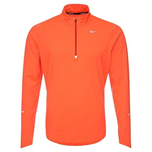Nike Element 1/2 Zip Maglia arancione - arancione