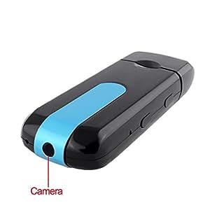Visionaer® Caméra espion cachée dans un clé USB (caméra, magnétoscope numérique, caméscope, CCTV, Digital) pour la sécurité et surveillance