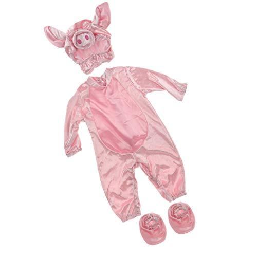 Schweinchen Für Kostüm Kleinkind - Baoblaze Baby weihnachts halloween Kostüm - Schweinchen, 24-30 Monate