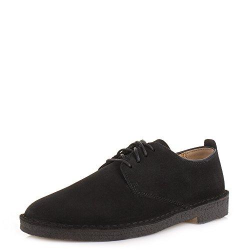clarks-originals-desert-london-4-chaussures-a-lacets-casual-en-daim-noir-noir-noir-42-eu-eu-42-aus-9