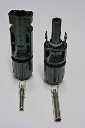original - MC4 Stecker + Buchse für 4-6mm² Leitungen