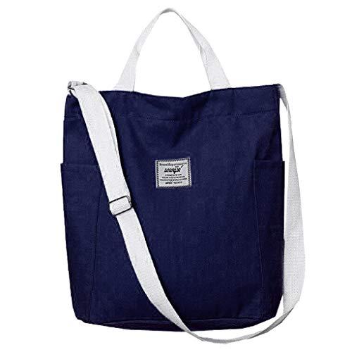 Damen Umhängetaschen,Rifuli Wanvas Umhängetasche Canvas Bag Big Bag Messenger Bag Handtasche Student Bag Rucksäcke Taschen Messenger Bags Daypacks Taschen