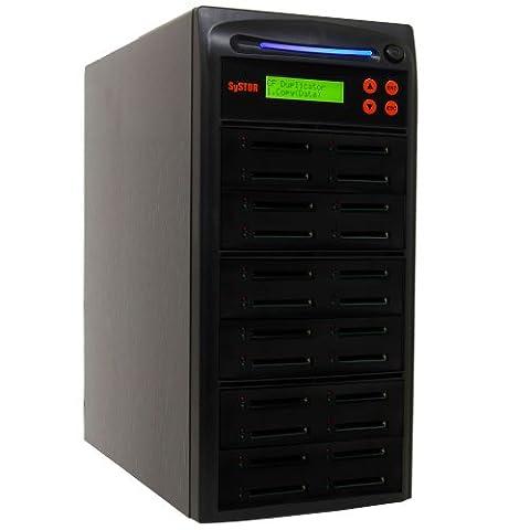 Systor 1 à 23 Multiple Copieur Carte Compact Flash / CF Memory Drive Duplicator