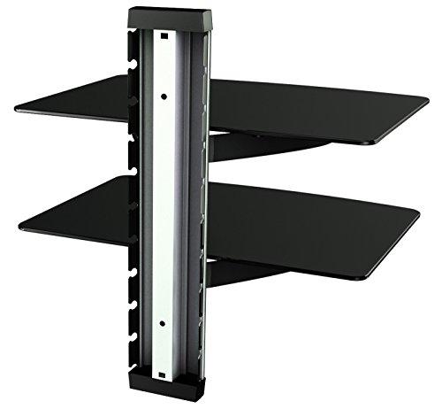 RICOO Scaffale pensile TV scansia supporto da parete DVD Design ...