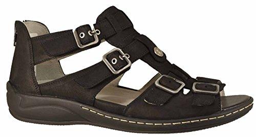 Waldläufer botte sandales hilena-582002 black denver Moyen Noir