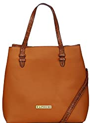 Caprese April Women's Tote Bag (Tan)