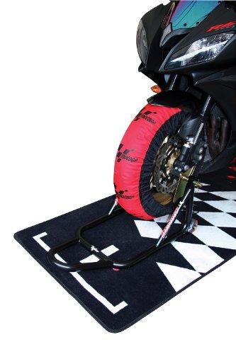 MotoGP estándar neumático calentadores UK 3Pin-200/55-17trasera