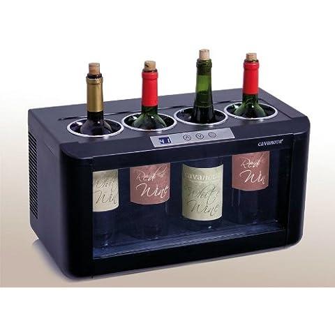 Cavanov - Vinoteca Cavanova Ow004, 4 Botellas, 27X48,1X25,5Cm.