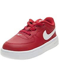 Nike Force 1 '18 (TD), Pantofole Unisex-Bimbi, Rosso (University Red/White 601), 19.5 EU