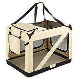 TecTake Faltbare Hundetransportbox Transportbox | -Diverse Größen- (XXXL | Nr. 401042)