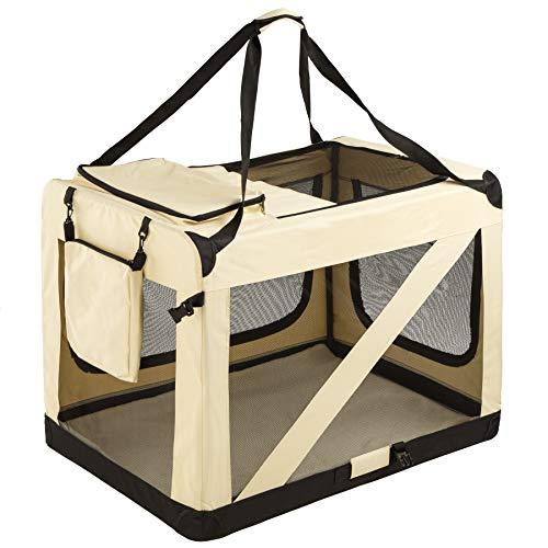 TecTake Faltbare Hundetransportbox Transportbox   -Diverse Größen- (XXXL   Nr. 401042)