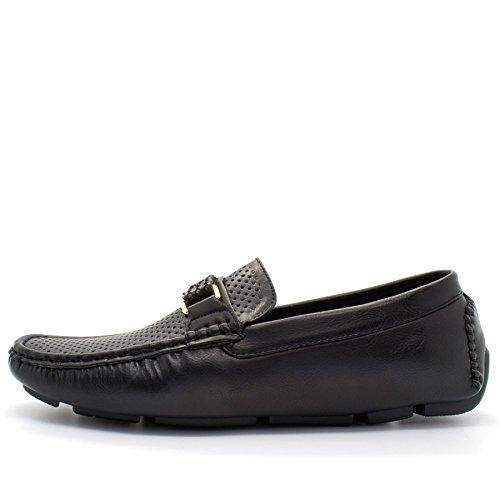 Cuña De Hombre Sandalias Londres Negro Calzado 1qEftE