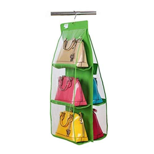 Tutyuity 6 Handtaschenhalter, Taschen klar hängende Handtasche Tote Bag Storage Organizer Closet Rack