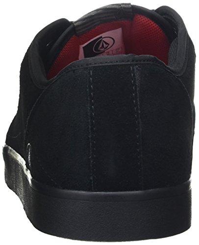 Volcom Grimm 2 Shoe, Chaussures de Skateboard homme Noir