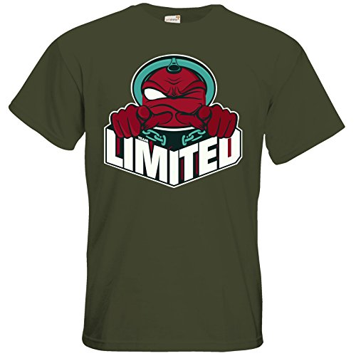 getshirts - Rocket Beans TV Official Merchandising - T-Shirt - Team Limited Logo Khaki