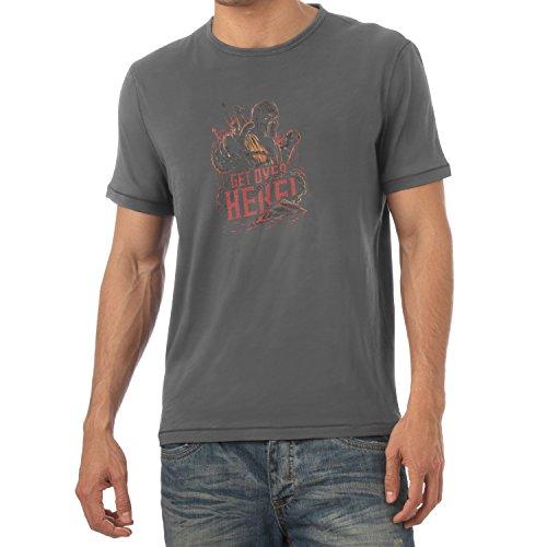 TEXLAB - Get over here - Herren T-Shirt Grau