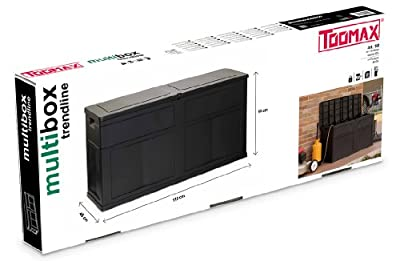 Toomax Kissenbox Multibox Trend Line, Schwarz von TOOMAX bei Du und dein Garten