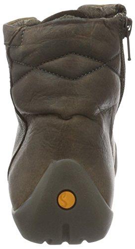 Softinos - Nita323sof Washed, Scarpe da ginnastica Donna Marrone (Braun (Coffee 000))