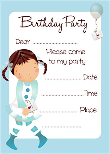 ACE Birthday Invitation Card on Metallic Sheet (Pack of 50 Cards) BPC-004