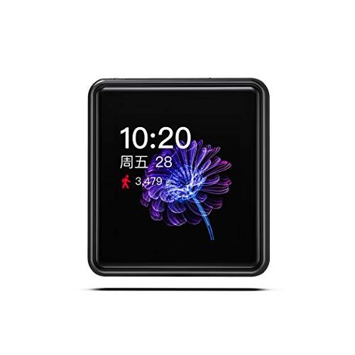 FiiO M5 portabler High Definition Audio und MP3 Player - 32 Bit/384 kHz - Bluetooth LDAC, aptx HD, SBC, AAC - Tochscreen ... (Schwarz)