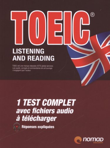 TOEIC listening and reading