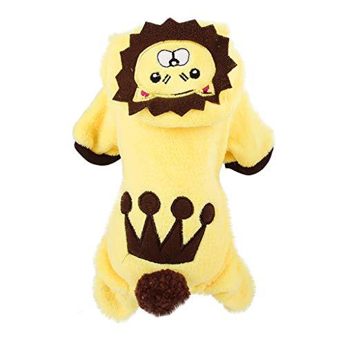 Hunde & Katze Queen Kostüm - Fleece Hundepullover Hoodie Pullover Haustier Katze Welpen Mantel kleine Haustier Hund warme Kostüm Bekleidung Hundejacke mit Kapuze