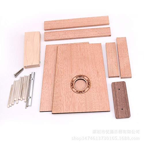 irugh Kalimba DIY handgefertigt Material Pack 17-Ton 10-Ton Carlin Daumen hausgemachte ()