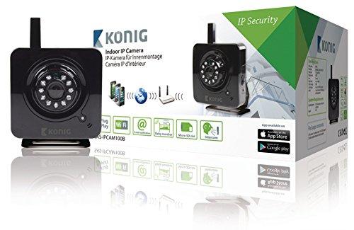 Knig-SAS-IPCAM100B-IP-security-camera-Interior-Cubo-Negro-Cmara-de-vigilancia-IP-security-camera-Interior-Externo-Cubo-Negro-Escritorio