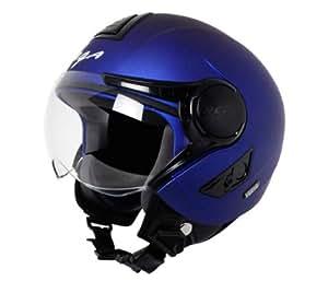 Vega Verve Open Face Helmet (Women's, Dull Blue, M)